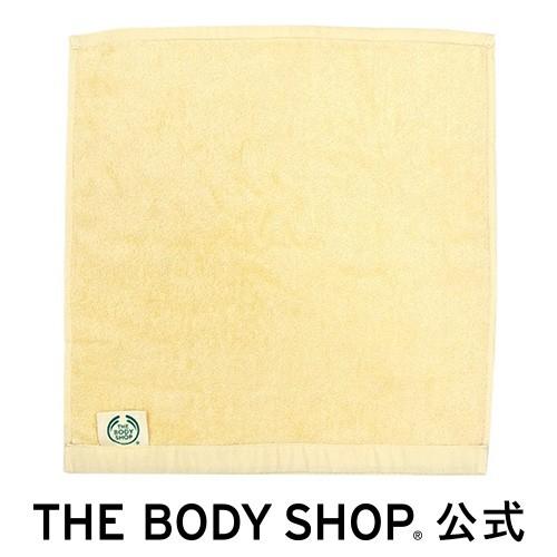 【正規品】 オーガニックコットンハンドタオル クリーム THE BODY SHOP ボディショップ ツール ボディケア 入浴 バスタイム