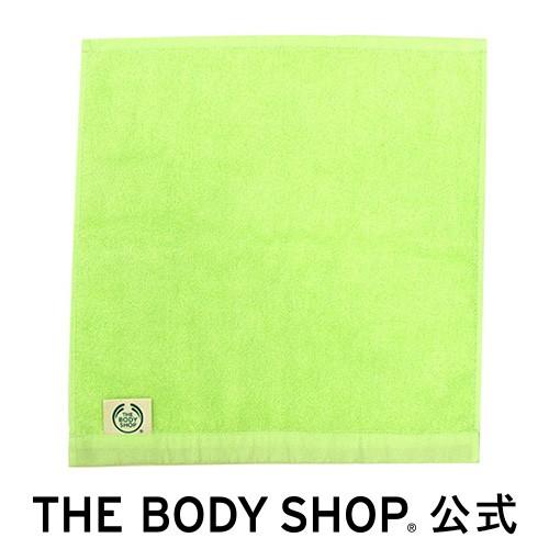【正規品】 オーガニックコットンハンドタオル グリーン THE BODY SHOP ボディショップ ツール ボディケア 入浴 バスタイム