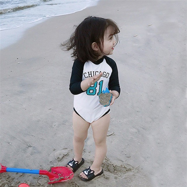 子供 水着 ワンピース水着 サロペット キッズ 長袖 水着 女の子 スイムウェア フリル 可愛い 紫外線カット 子供 こども ジュニア 女児 女
