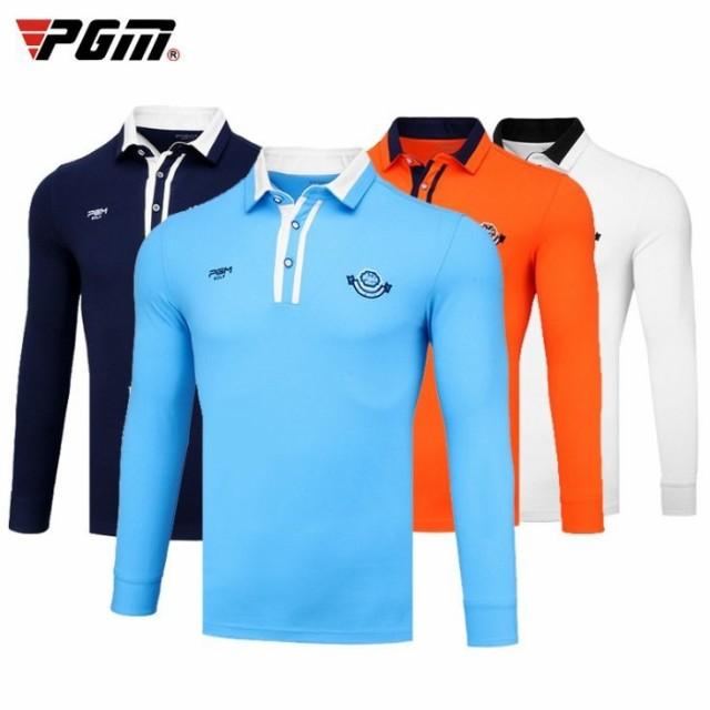 ゴルフ メンズ ポロシャツ 長袖 軽い 暖かいスポーツウェア ゴ ルフウェ ア テニ ス バドミントン