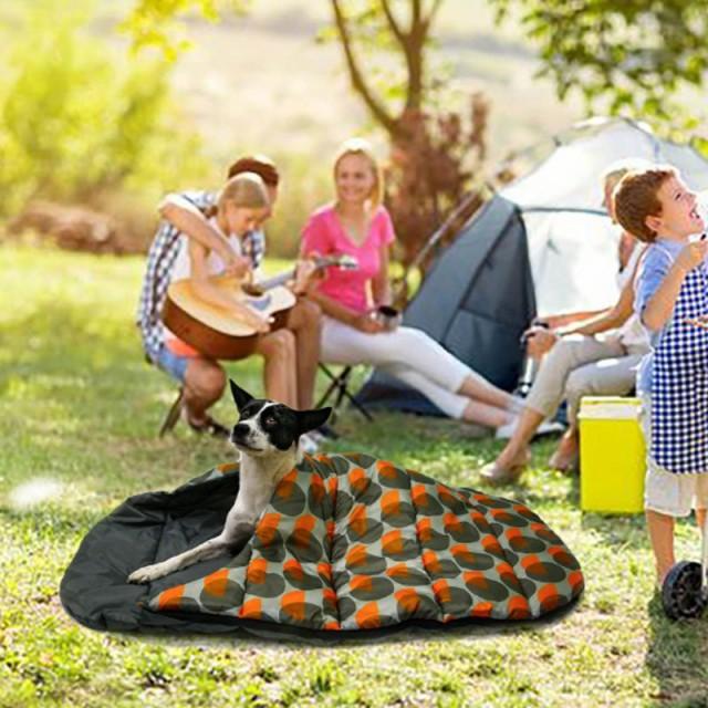 犬 猫 ペットベッド ペット用品 ペットベッド 犬小屋 寝袋 アウトドア 四季通用 防水 柔らかい おしゃれ