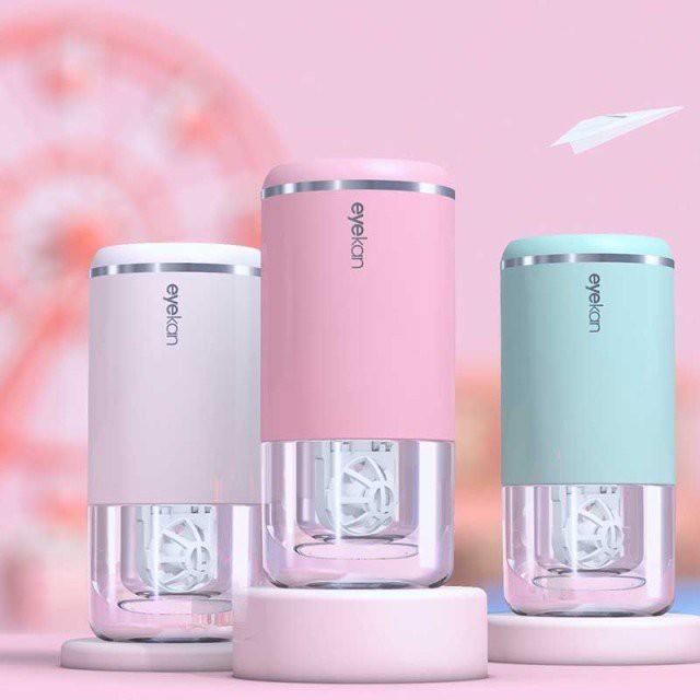 J-Dion コンタクトレンズクリーナー 超音波洗浄機 ミニ超音波洗浄器 脂質汚れ洗浄 蛋白除去 花粉もスッキリ USB充電式 コンパクト 携帯
