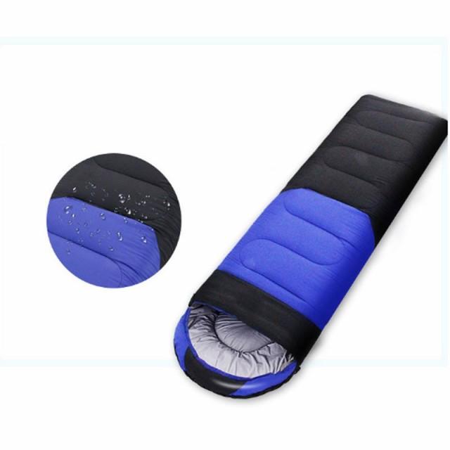 寝袋 封筒型 シュラフ 携帯 軽量 キャンプ アウトドア 車中泊 コンパクト収納 丸洗い 防災グッズ 地震対策 おしゃれ