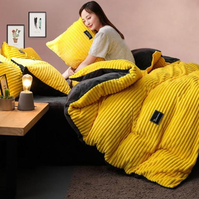 掛け布団カバー マイクロファイバー掛け 秋冬毛布 ブランケット シングル/ダブルサイズ 暖かい寝具