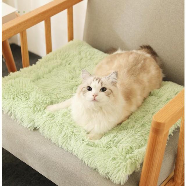 ペットブランケット 毛布 犬猫 マット タオル ソフト ペット用品 室内 ふわふわ マット 寝袋 保温防寒 四節適用 愛犬 洗える あたっか