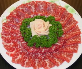 熊本 馬刺し スライス 皿盛りお届け!熊本の桜 菊池セット
