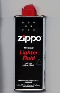 zippo専用ジッポー純正オイル(小缶)133ml