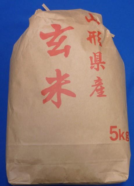 【送料無料】令和2年産 山形県産 コシヒカリ 玄米5kg【沖縄別途1000円加算】