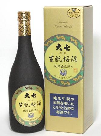 大七 生もと梅酒 720ml