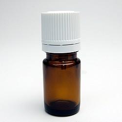 遮光ビン 茶色 5ml 遮光瓶 アロマオイル 保管 保存 詰替え 小分け メール便対応