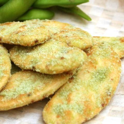 【送料無料】ほのかな甘みと枝豆の風味が魅力!枝豆風せんべい