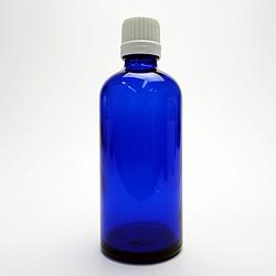 遮光ビン ブルー 100ml 遮光瓶 アロマオイル 保管 保存 詰替え 小分け