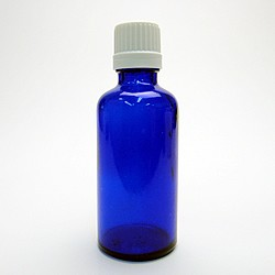 遮光ビン ブルー 50ml × 10本 遮光瓶 アロマオイル 保管 保存 詰替え 小分け