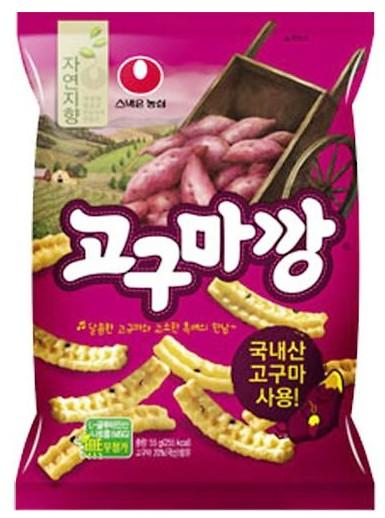 農心 ゴグマカン(さつま芋味)/韓国食材/韓国食品/韓国お菓子/チョコレート/パイ/お菓子