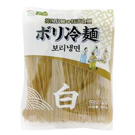 ボリチョン ボリ冷麺の麺(白)(160g)★韓国食品市場★韓国食材/ 韓国料理/ 韓国麺類/ 冷麺/ 麺
