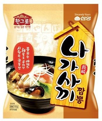 三養 長崎チャンポン麺(115g) ★韓国食品市場★ 韓国ラーメン/ インスタントラーメン/ samyang