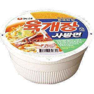 農心 ユッケジャンカップ麺 (86g) ★韓国食品市場★韓国食材/ 韓国ラーメン/ インスタント/ カップ麺/韓国麺/CUP麺