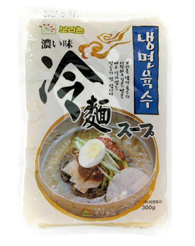 ボリチョン ボリ冷麺スープ(濃い味)(300g)★韓国食品市場★韓国食材/ 韓国料理/ 韓国麺類/ 冷麺/ 麺