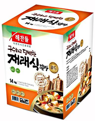 ヘチャンドル 味噌 14Kg■韓国食品■韓国料理/韓国食材/調味料/韓国ソース/韓国味噌/在来式味噌/テンジャン
