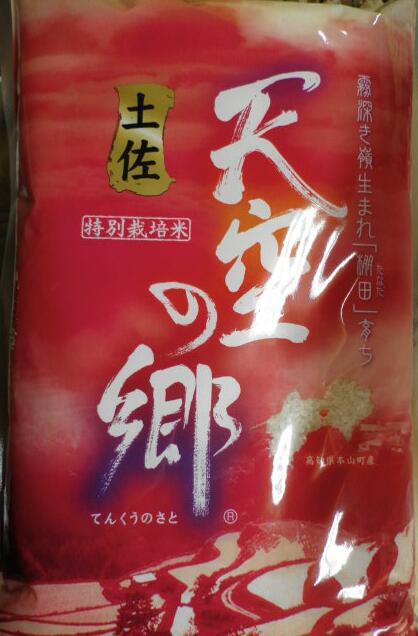 お米マイスター・お米アドバイザーおすすめ米特別栽培棚田米 土佐天空の郷にこまる5kg お米/白米/のし可