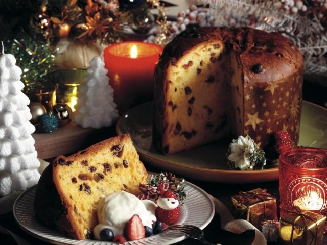 【クリスマス】コモの『パネトーネ』賞味期間90日 御歳暮/クリスマス/贈り物/年賀/イタリア/panettone