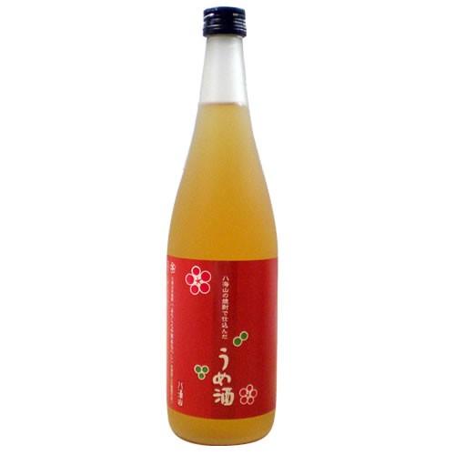 【梅酒】八海山の焼酎で仕込んだ「うめ酒」720ml 【八海醸造】[還暦祝い 誕生日 ご贈答 記念品 お歳暮 父の日]