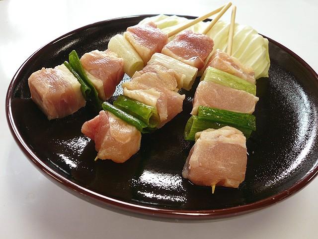 国産若鶏▲焼鳥 ももねぎ串(ねぎ間)[3本]焼き鳥・串焼きが旨い!やきとり・ヤキトリ