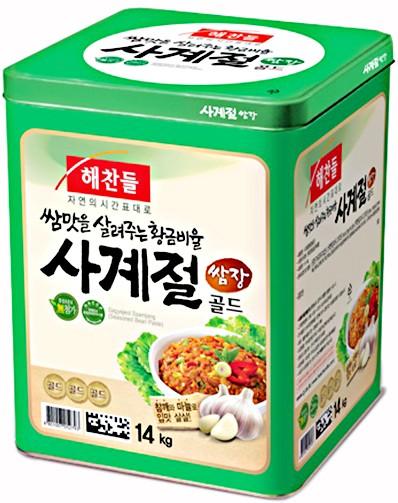 ヘチャンドル サムジャン(合わせ味噌)14Kg★韓国食品市場★韓国味噌/韓国料理/韓国食材/調味料/韓国ソース/韓国鍋料理 /合わせ味噌