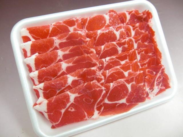 国産豚肉 市場特選肉 上豚 肩ロース 500g しゃぶしゃぶ用 冷蔵品 業務用