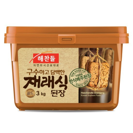 ヘチャンドル 味噌 3Kg★韓国食品市場★韓国料理/韓国食材/調味料/韓国ソース/韓国味噌/在来式味噌/テンジャン