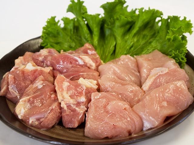 九州産▲若鶏角切り[約500g]★もも肉とむね肉を使用☆煮物料理にピッタリ♪