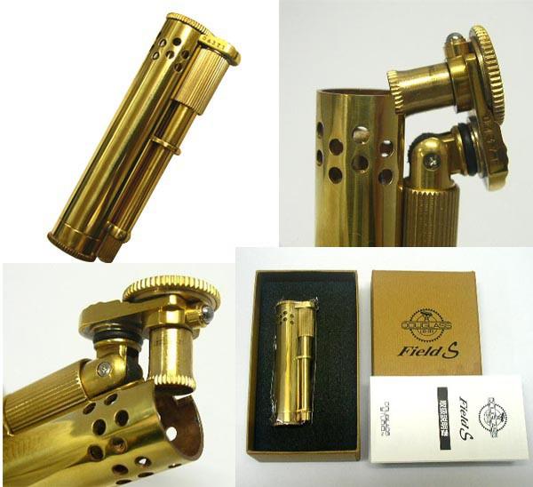 送料300円〜DOUGLASS(ダグラス)Field-Sオイルライター真鍮無垢(ブラス磨き)シリアルNo付き パーツ数45のこだわり!日本製
