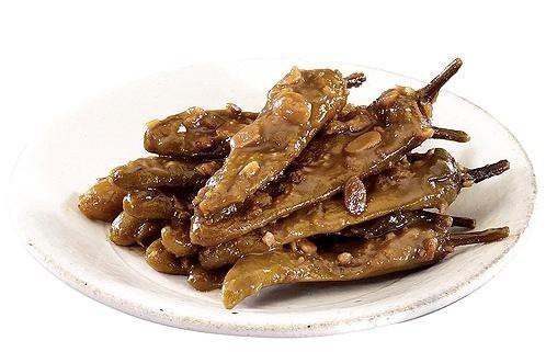 唐辛子の味噌漬け 300g★韓国食品市場★韓国料理/韓国食材/韓国キムチ/キムチ/おかず/漬物