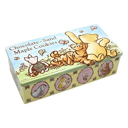くまのプーさん チョコレートサンドメイプルクッキー お菓子 【東京ディズニーランド限定】