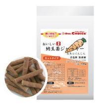【オフィスピースワン】ドクターズチョイス おいしい納豆菌ジャーキー お魚とにんじん 150g