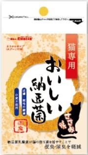 【ドクターズチョイス】猫専用おいしい納豆菌 ささみ味 80g
