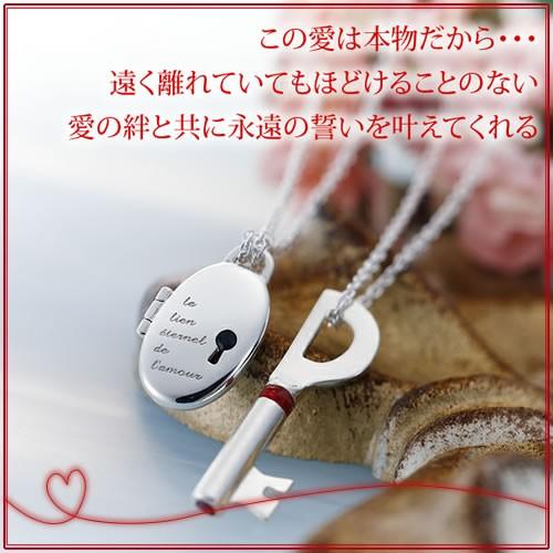 ペアネックレス 2本セット カップル お揃い 送料無料 誕生石 人気ブランド LOVE of DESTINY 運命の愛 LOD-019L020M