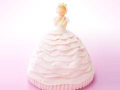 マイルストーン プリンセス 3Dケーキ 送料別 誕生日ケーキ プレゼント ホワイトデー ギフト 女の子 母の日 立体ケーキ