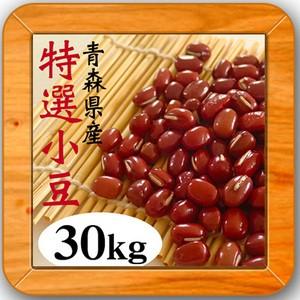 【1年産 青森県産 小豆特選30kg】 豆 30kg 小豆 人気 小分け 豆 あずき 国産 30キロ 徳用