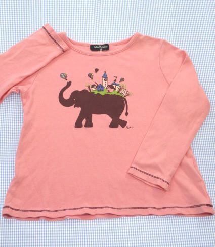042b64d5060bf クレードスコープ kladskap ナルミヤ 長袖Tシャツ 110cm 女の子 キッズ 子供服