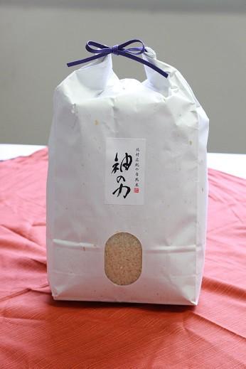 北村広紀の自然米「神の力」白米 コシヒカリ 5kg【無農薬玄米・無肥料米・自然農法】