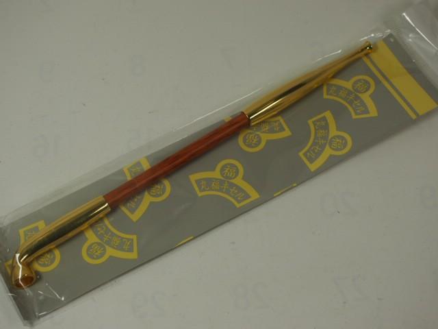 新品(手造り)丸福キセル 煙管 六寸 ゴールド金(大)★きせる小物