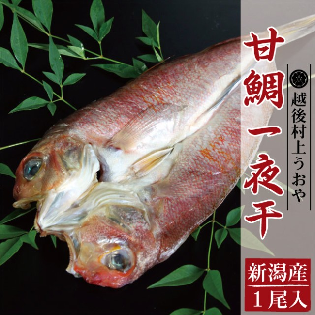 甘鯛の一夜干(1尾入) /あまだい/タイ/たい/干物/ひもの/乾物/お惣菜/魚/ご飯のおかず/グルメ