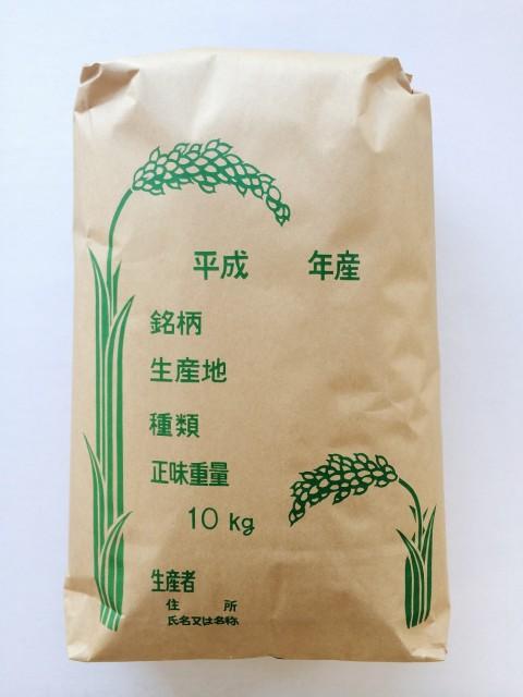 【送料無料】令和元年産 山形県産 わたぼうし (その他もち) 玄米 10kg