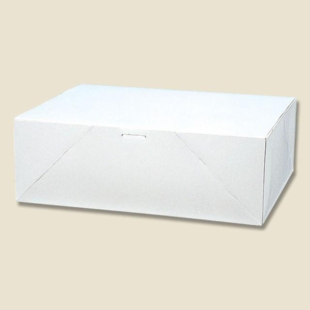 ケーキ箱 ケーキ用ケース・洋生 白E(10枚入)OKS-127【カットケーキ/持ち帰り/ギフト/贈り物/洋菓子/和菓子/焼き菓子/白箱/お土産】