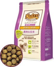 【ニュートロ】ナチュラルチョイス 鹿肉&玄米 超小型犬〜小型犬用 成犬用 800g