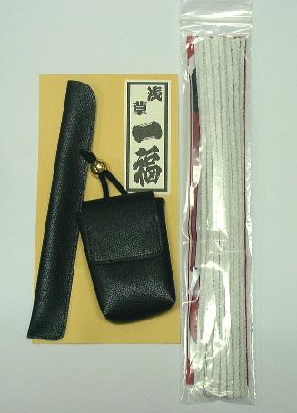 送料220円〜煙管(キセル)専用 煙草ケース(かます) 掃除具セット