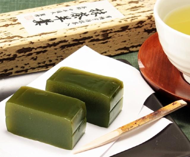 茶師監修・有機抹茶入り京羊羹 310g /無添加/和菓子/ようかん/京都/宇治抹茶