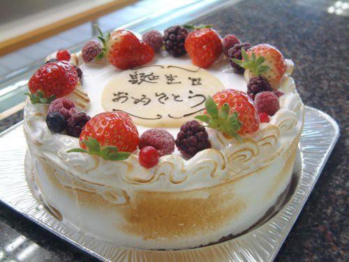 バースデーケーキ  ホールアイスケーキ M 誕生日 母の日