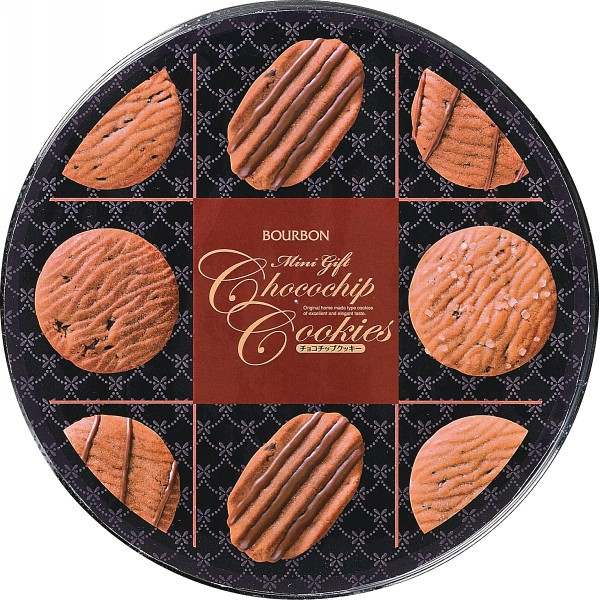 ブルボン ミニギフトチョコチップクッキー缶/洋菓子/母の日/敬老の日/父の日/バレンタイン/ホワイトデー/プレゼント/